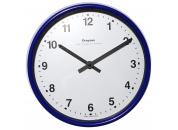 Blue Wall Clock 222mm Ø Battery Operated