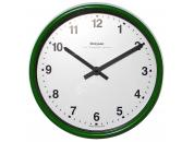 Green Wall Clock 222mm Ø Battery Operated