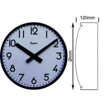 Single Sided Arabic Dial Clock 410mm Ø Mains Operated